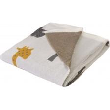 Детско одеяло Baby Matex - Bamboo, джунгла -1