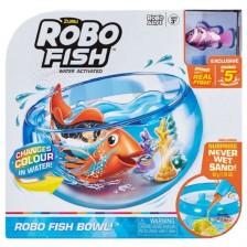 Детска играчка Zuru - Робофиш в аквариум, розова -1