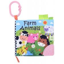 Детска мека книжка Lorelli - Ферма -1