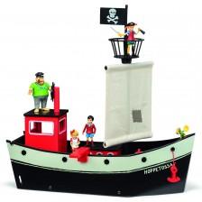 Детска играчка Micki Pippi - Корабът на Пипи Дългото чорапче -1