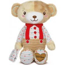 Детска плюшена играчка Clementoni Baby - Мече -1
