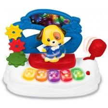 Детско пиано WinFun - Beat Bop, с танцуващо куче -1