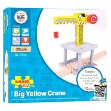 Детска дървена играчка Bigjigs - Кран -1