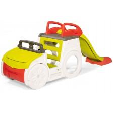 Детски сет за градина Smoby - Кола за приключения -1