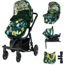 Детска количка с аксесоари Cosatto Giggle Quad - Into the Wild -1