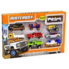 Детски комплект Mattel Matchbox - 9 колички, асортимент -1