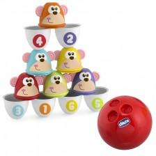 Детска игра Chicco - Боулинг -1