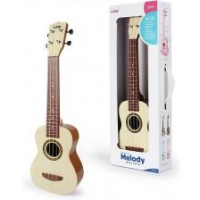 Детска китара Baoli - Melody, бежова -1