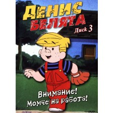 Денис Белята: Внимание! Момче на работа! (DVD)