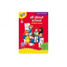 Детска книжка Galt Early Activities - Всичко за училище -1