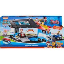 Детска играчка Spin Master Paw Patrol - Камион Paw Patroller с 2 рампи -1