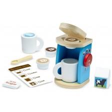 Детска дървена кафемашина Melissa & Doug - С аксесоари -1