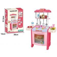 Детска кухня Ocie - Talented chef, розова -1