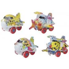 Детско метално самолетче Ocie - Metal mini car, асортимент -1