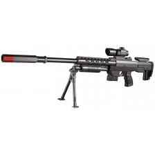 Детска пушка Villa Giocattoli - Еърсофт V-751, снайперова с трипод -1