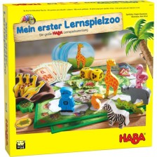 Детска игра Haba - 10 игри, Зоопрак -1