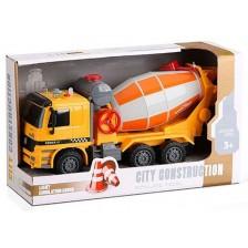 Детска играчка Ocie City Construction - Камион бетоновоз, 1:16 -1