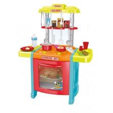 Детска кухня Ocie - Talented Chef, червена -1