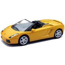 Детска играчка Newray - Метален автомобил Lamborghini Gallardo Spider -1