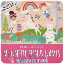 Детски магнитни игри Floss and Rock - Феята на дъгите -1