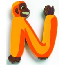 Детска играчка Djeco - Буква N