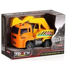 Детска играчка Ocie The Feel of Real - Камион с кран, звук и светлина -1