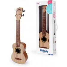 Детска китара Baoli - Melody, кафява -1