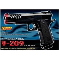 Детски пистолет Villa Giocattoli - Еърсофт V-209 , полуавтоматичен -1