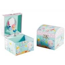 Детска музикална кутия за бижута Floss and Rock - Русалка -1