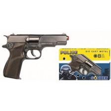 Детска играчка Gonher - Полицейски пистолет -1