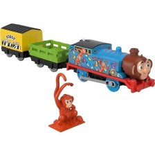 Детска играчка Fisher Prices Thomas & Friends - Томас, Маймунка -1