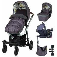 Детска количка с аксесоари Cosatto Giggle Quad - Fika Forest -1