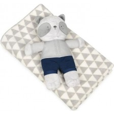 Детско одеяло с плюшена играчка Baby Matex - Carol, Панда -1