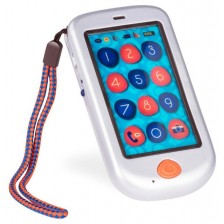 Детска играчка  Battat - Смартфон, перлено бял -1