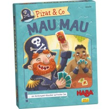 Детска игра с карти Haba - Пирати -1