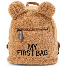 Детска раница Childhome - My First Bag, Teddy -1