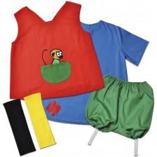 Детски костюм на Пипи Дългото чорапче Pippi, 2-4 години -1