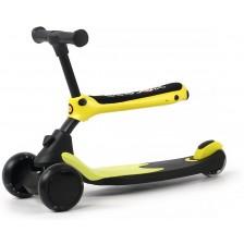 Детски скутер 2 в 1 Chipolino - X-Press,  жълт -1