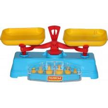 Детска играчка Polesie Toys - Везна с тежести -1