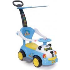 Детска кола за бутане Moni - Panda JY-Z02A, синя -1