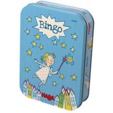 Детска магнитна игра Haba - Бинго, в метална кутия -1