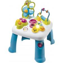 Детска масичка с активности Smoby - Cotoons, синя -1