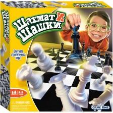 Детска игра Funville - Шахмат и шашки -1