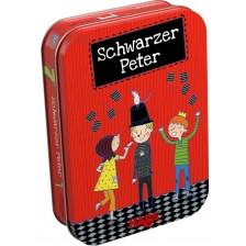 Детска игра Haba - Черен Петър, в метална кутия -1