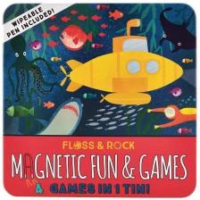 Детски магнитни игри Floss and Rock - Подводен свят -1