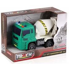 Детска играчка Ocie The Feel of Real - Камион бетоновоз, звук и светлина -1