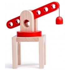 Детски дървен кран Woody  -1