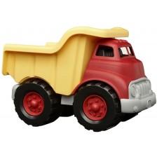 Детска играчка Green Toys - Самосвал, червено и жълто -1
