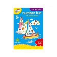 Детска книжка Galt Early Activities - Цифрите -1