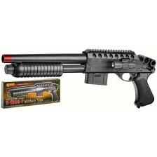 Детска пушка-помпа Villa Giocattoli - Еърсофт 1099M, полуавтоматична -1